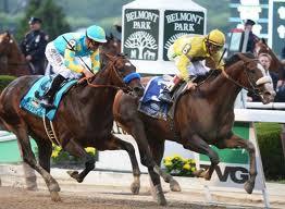Union Rags Winning Belmont