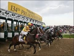Preakness Stakes Race Start